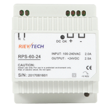 60W-DIN Rail switching power supply RPS-60 series