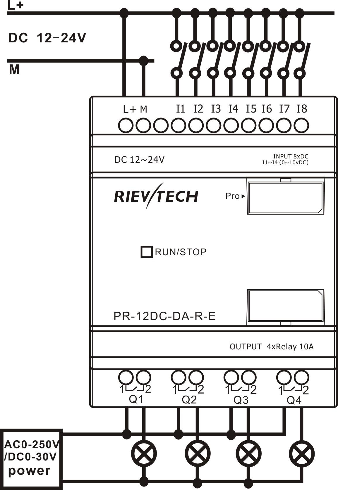 Superb Pr 12Dc Da R E Buy Smart Relay Siemens Logo Easy Product On Rievtech Wiring Digital Resources Remcakbiperorg